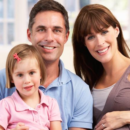 Family happy & healthy