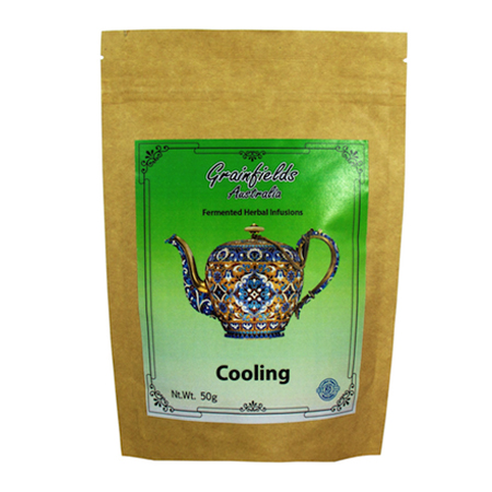 Herbal Infused Tea for Cooling